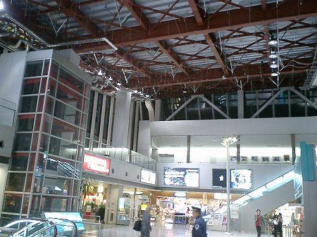 釧路空港地震被害