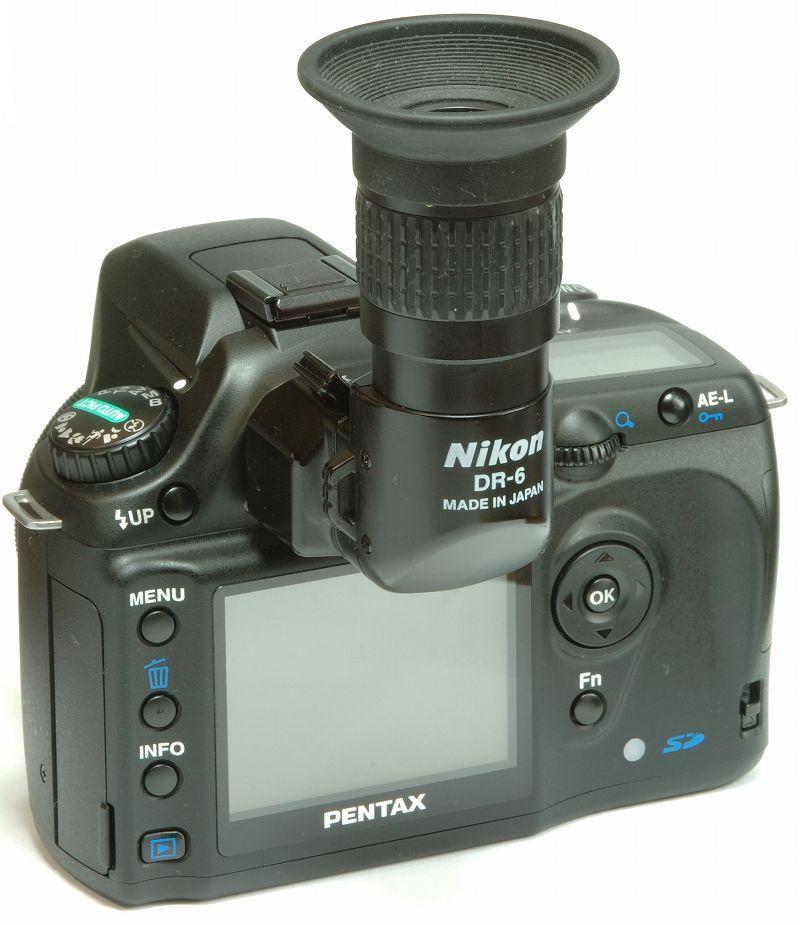 *ist DS2 + Nikon DR-6