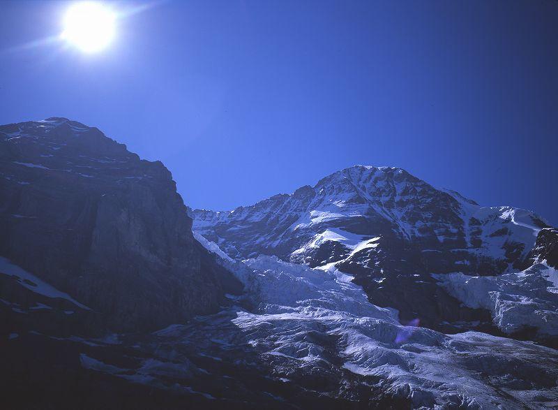 メンヒと氷河