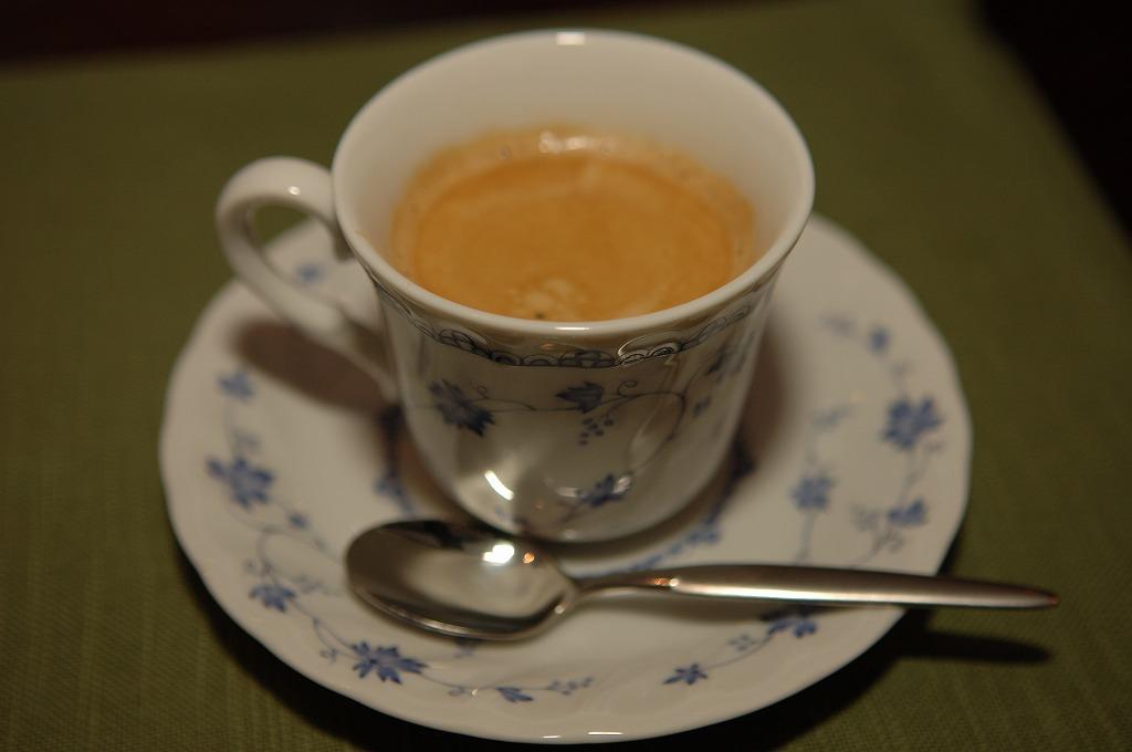 とっても美味しかったコーヒー