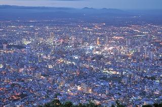 札幌夜景7985
