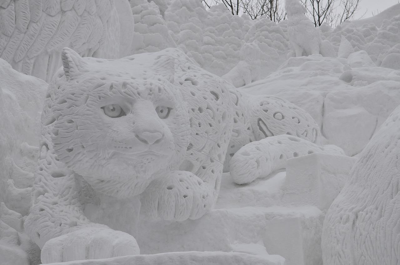 札幌雪祭り(朝)687