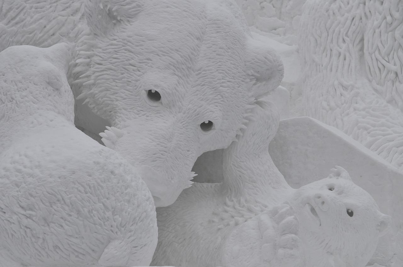 札幌雪祭り(朝)691