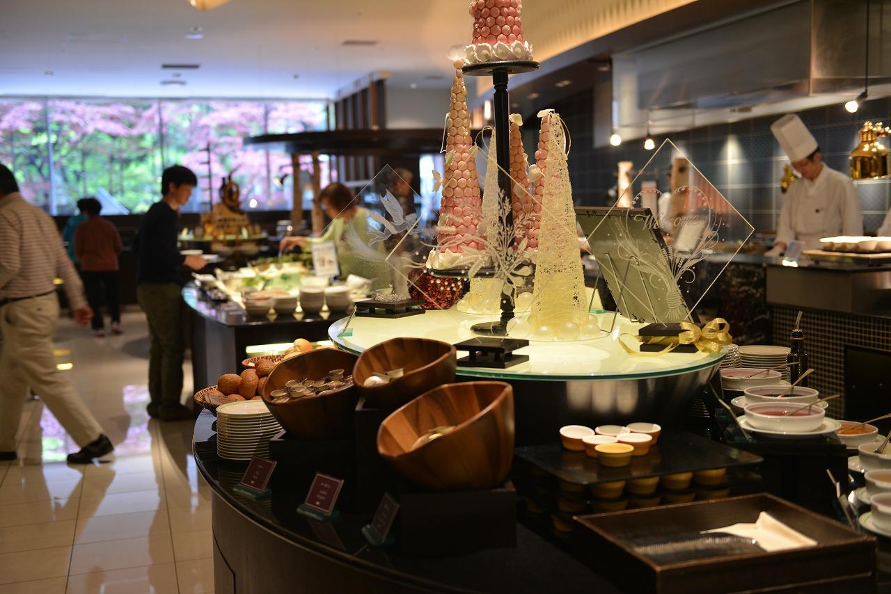 京王プラザ札幌で朝食